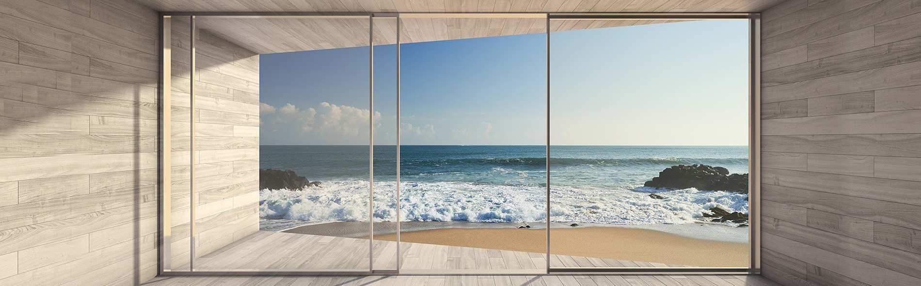 Alfox dise o cortinas de cristal para terrazas en m laga - Cortinas fuengirola ...